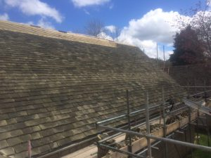 Re Roofing Broadway Libary Cotswolds