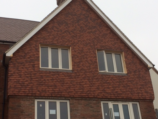 Vertical Tiling Clay Tiles Cm Roofing Services